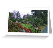 The Gardens of San Maurizio Greeting Card