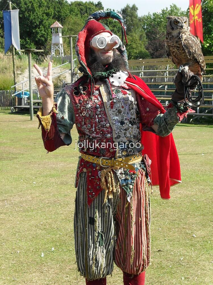 Jester, Owl & Clown by jollykangaroo
