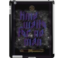 Time Waits For No Man iPad Case/Skin