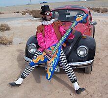 The Minstrel & his guitar by jollykangaroo