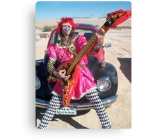 Silky Guitar Freak Canvas Print