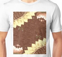 Sunflower and Peony Unisex T-Shirt