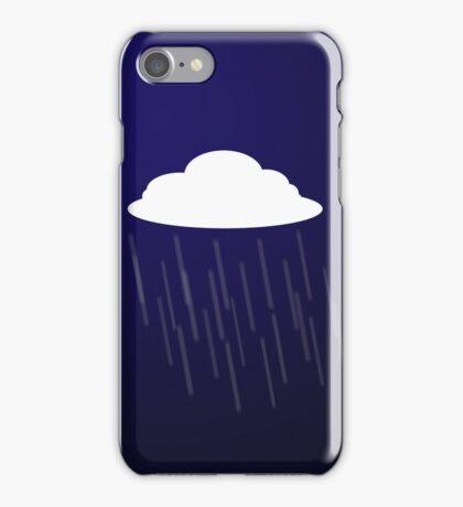 Clouds and rain iPhone Case/Skin