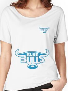 BLUE BULLS SUPER RUGBY Women's Relaxed Fit T-Shirt