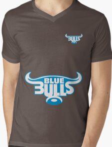 BLUE BULLS SUPER RUGBY Mens V-Neck T-Shirt