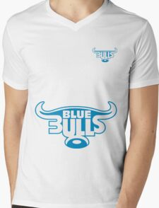 BLUE BULLS SUPER RUGBY Mens V-Neck T-Shirt