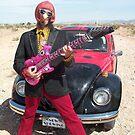 Retro Man guitarist by jollykangaroo