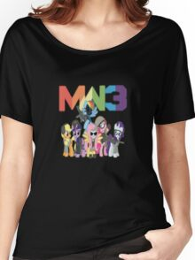 MW3 Ponies Women's Relaxed Fit T-Shirt