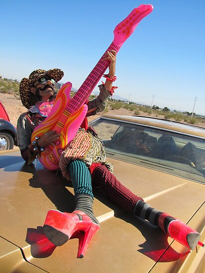 Pansy Guitarist by jollykangaroo