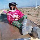 Foxy Glam Guitarist by jollykangaroo