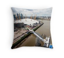 The O2 Greenwich Throw Pillow