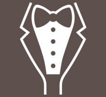 Tuxedo / Smoking One Piece - Short Sleeve