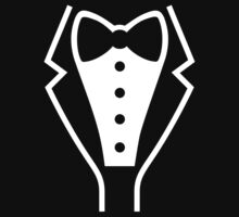 Tuxedo / Smoking One Piece - Long Sleeve