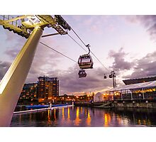 Emirates Airline Cable Car Photographic Print