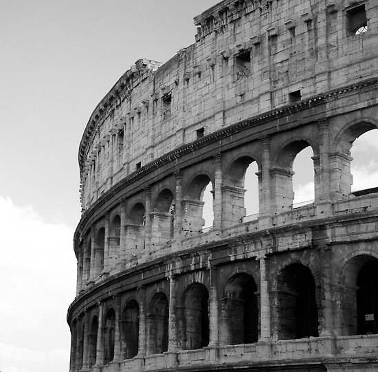 Roman Colosseum by Louise Fahy