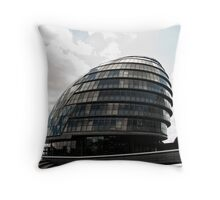 The Mayors Office  London Throw Pillow