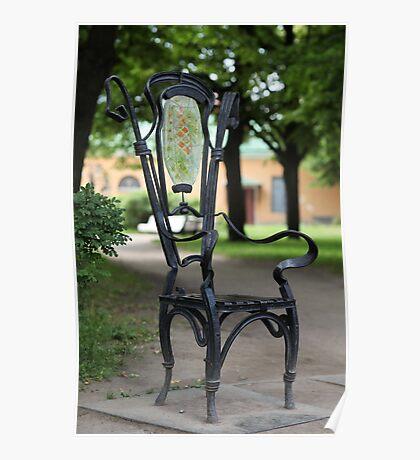 Garden chair Poster