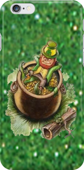 St.Patrick's Day iPhone Case by Catherine Hamilton-Veal  ©