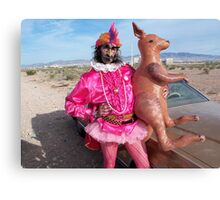 Is it Zappa with a Kangaroo? Canvas Print
