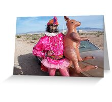 Is it Zappa with a Kangaroo? Greeting Card