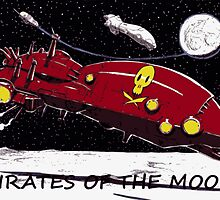 PIRATES OF THE JUPITER'S MOONS by spacemonster