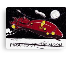 PIRATES OF THE JUPITER'S MOONS Canvas Print
