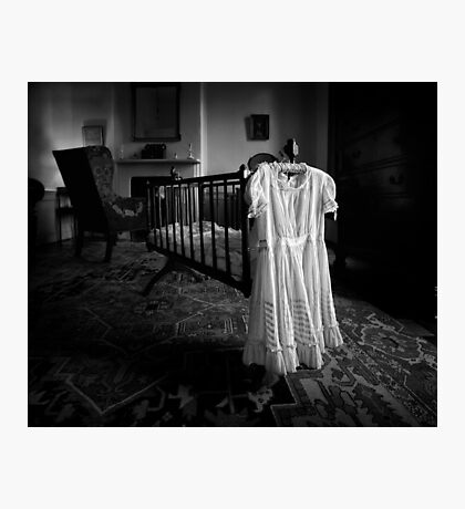 A White Dress In The Nursery Photographic Print