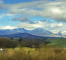 Crake Valley And The Coniston Fells by VoluntaryRanger