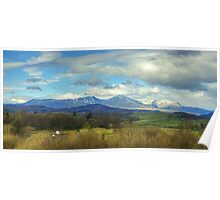 Crake Valley And The Coniston Fells Poster