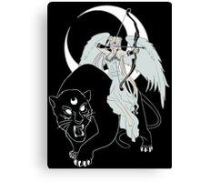 Goddess Moon Canvas Print