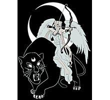 Goddess Moon Photographic Print
