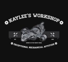 Kaylee's Workshop v2 Kids Tee
