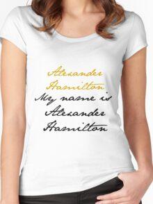 Alexander Hamilton Women's Fitted Scoop T-Shirt