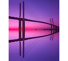 Queen Elizabeth 2nd Bridge Photographic Print