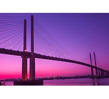 Queen Elizabeth Bridge Dartford Photographic Print