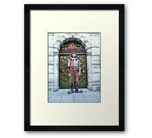 Jester Fool Framed Print