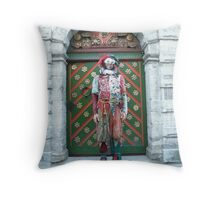 Jester Fool Throw Pillow
