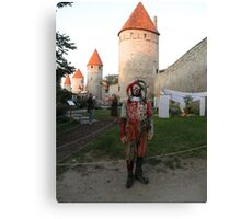 It's a Court Jester Canvas Print