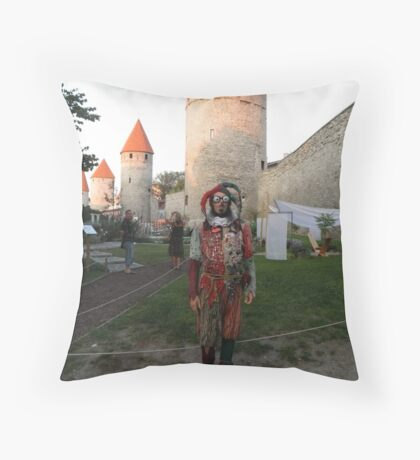 It's a Court Jester Throw Pillow