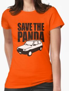 Save the Panda Womens Fitted T-Shirt
