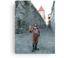 Medieval Fool Canvas Print