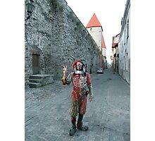 Medieval Fool Photographic Print