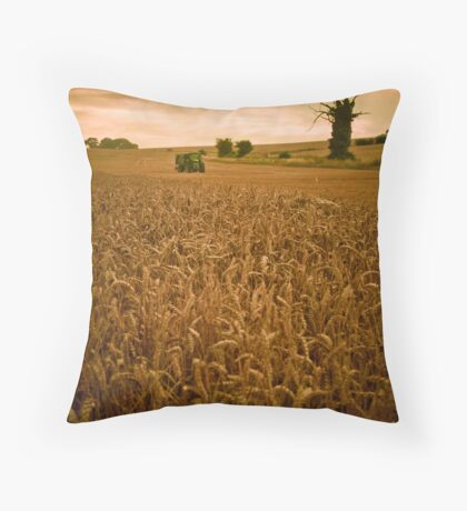 The Art of Farming,Horsecroft Farm,Bury St Edmunds Throw Pillow