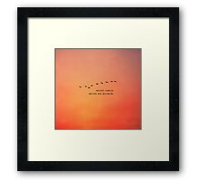 Another Sunrise Another New Beginning Framed Print