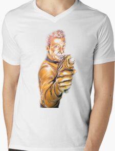 Captain's Gold Mens V-Neck T-Shirt