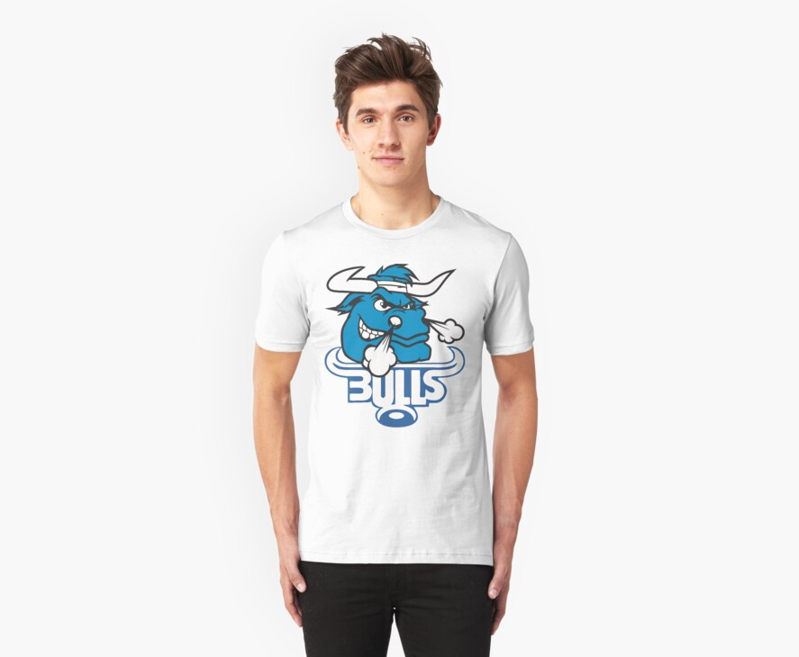 SOUTH AFRICA SEXY SUPER RUGBY BLUE BULLS SUPORTER T SHIRT BRAAI BILTONG by JAYSA2UK