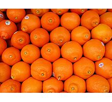 Tangerines Photographic Print