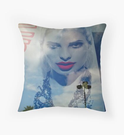 Down From The Clouds Throw Pillow