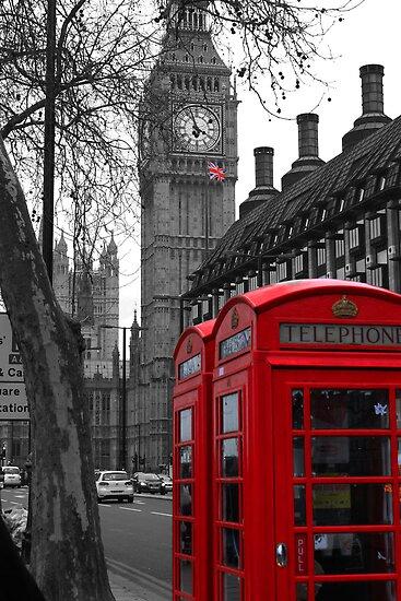 London - Red by stevebluey