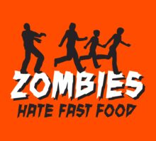 Zombies hate fastfood by LaundryFactory